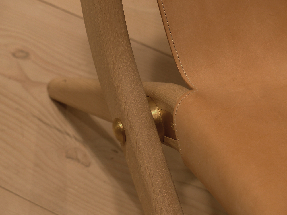 M&O 2015 _ SAXE, the folding chair by MOGENS LASSEN for BY LASSEN. (2)