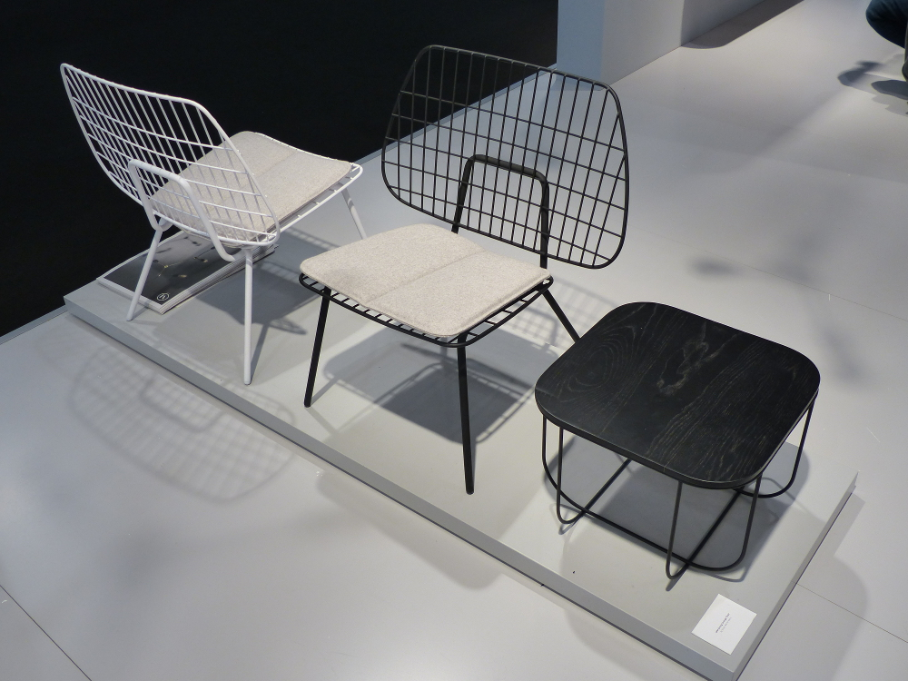 M&O 2015 _ WM String chair & Table by STUDIO WM for MENU.