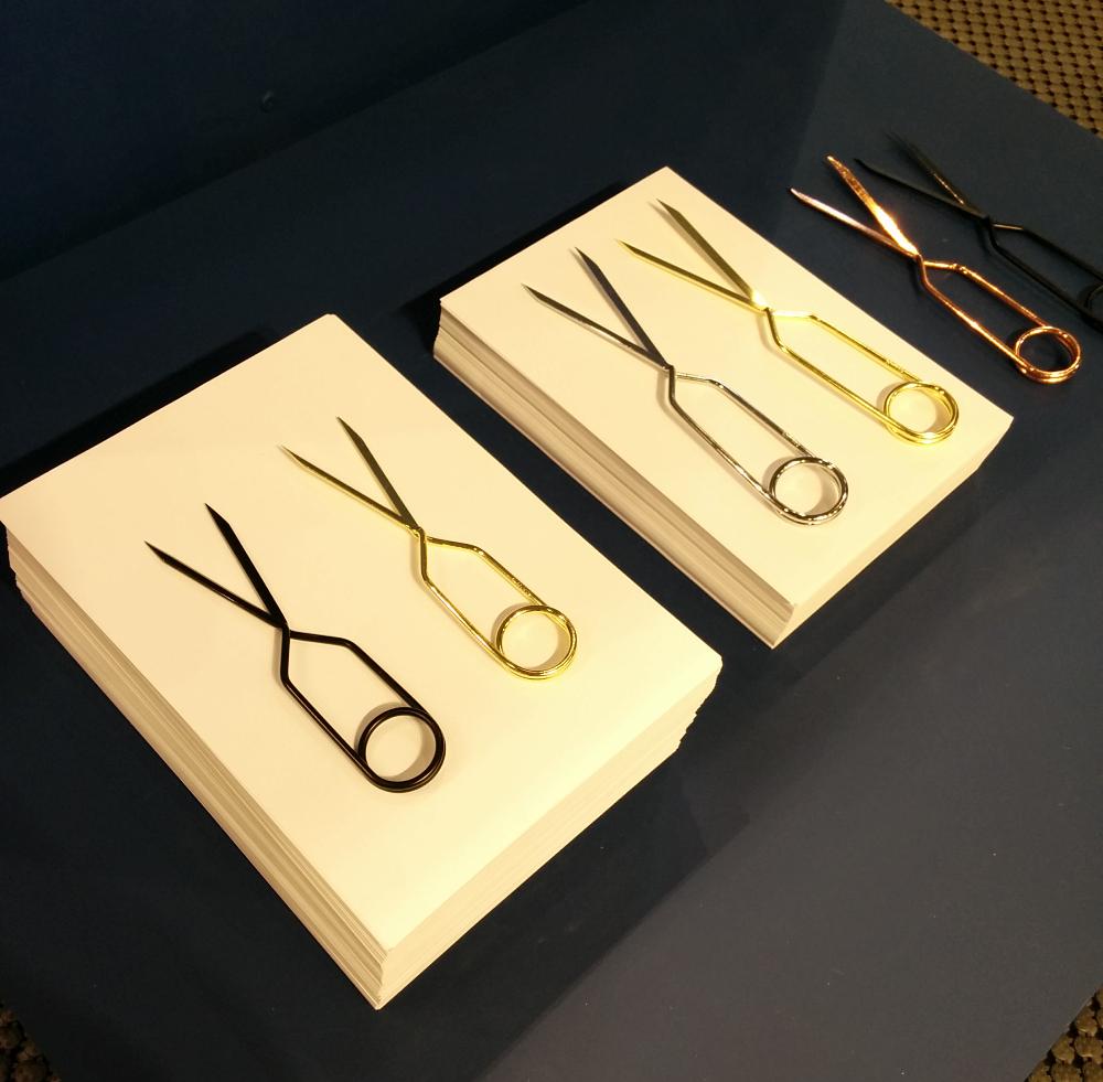 M&O 2015 ciseaux par Lex Pott - collection Spring Scissors pour Nomess Copenhagen