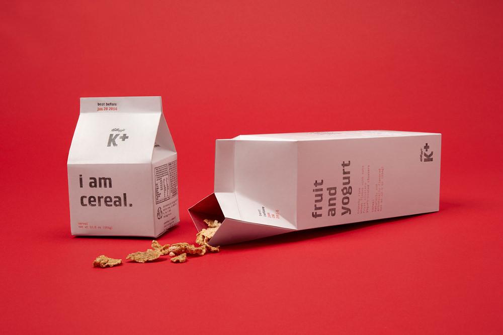 Packaging : Kellogg's Cereal pour adulte par Mun Joo Jane