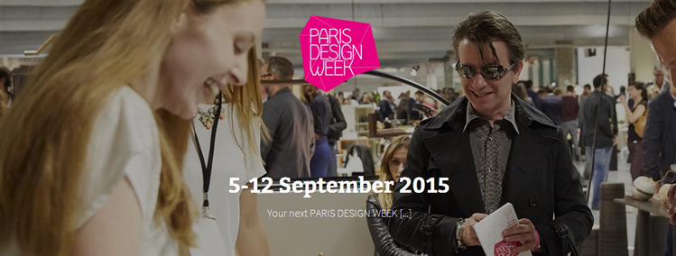 Paris Design Week 2015 : Le LIVE