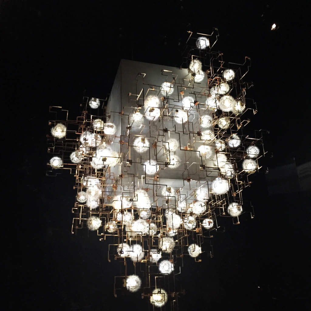Fragile Future 3 Concrete Chandelier – Studio Drift – 2011