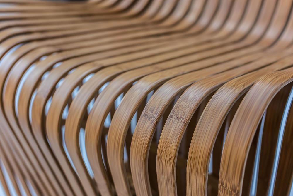 Détails bois - Chair Bambou Konstantin Gric