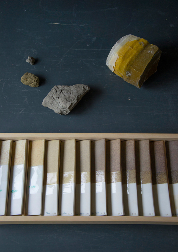 Ceramic paint research, Kirstie Van Noort