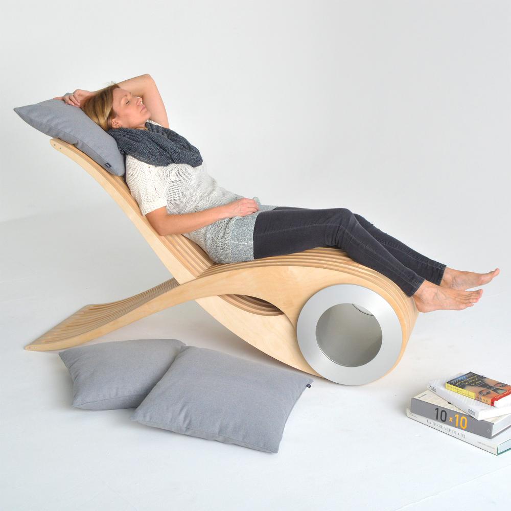 Chaise longue Exocet par Stéphane Leathead