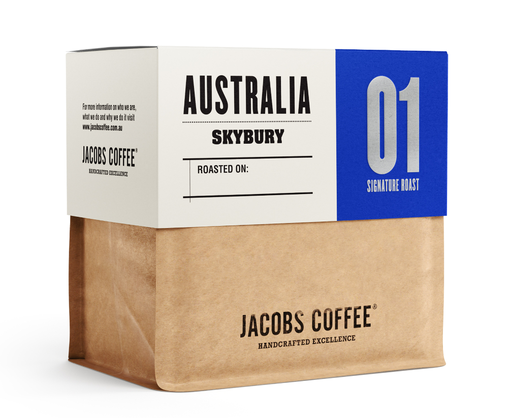 Packaging Jacobs Coffee par Angela Spindler