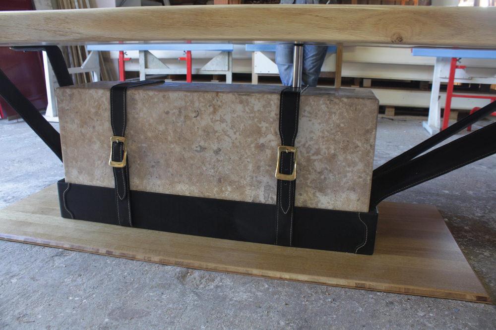 Citeaux Aux Echardons table design Marie Deley