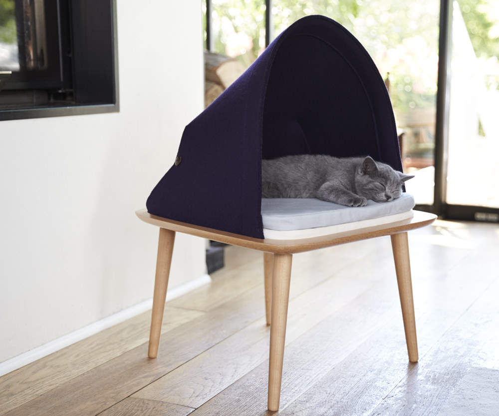 Crowdfunding : Mobilier BED pour chat par Meyou Paris