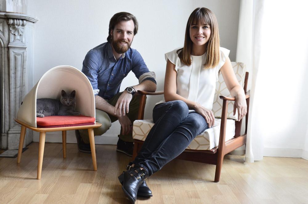 Fondateur Meyou Paris - Aude Sanchez et Guillaume Gadenne