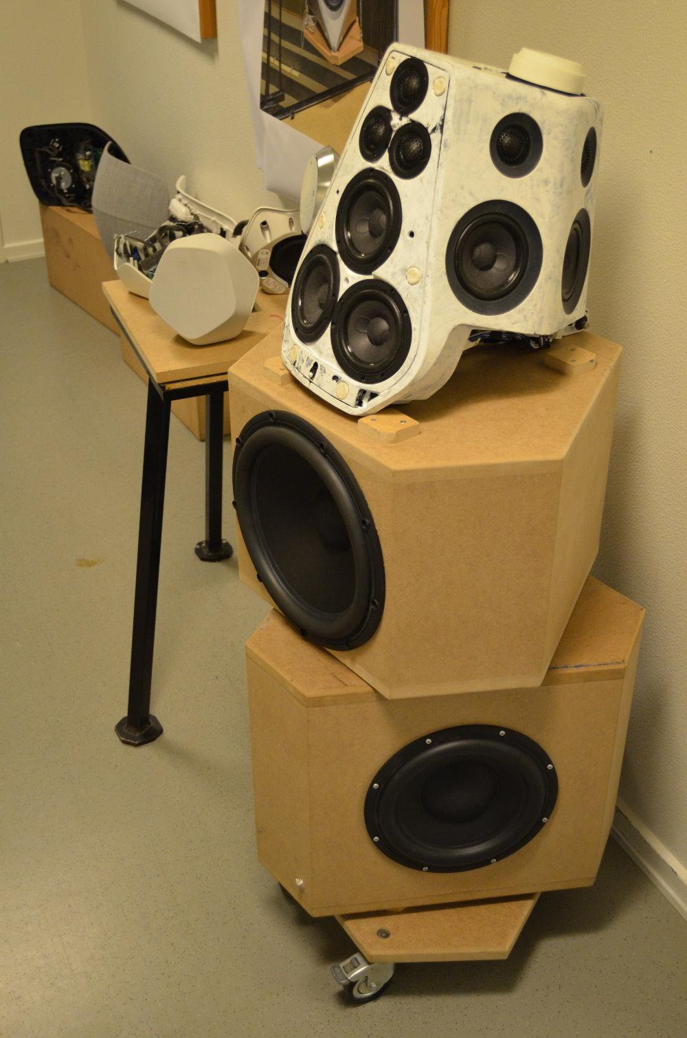 Prototypes BeoLab 90 speaker Bang & olufsen