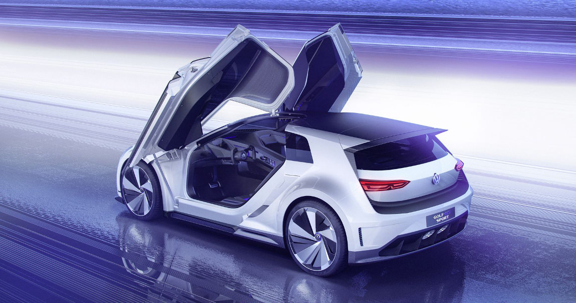 golf gte sport coup concept renouveau chez volkswagen. Black Bedroom Furniture Sets. Home Design Ideas