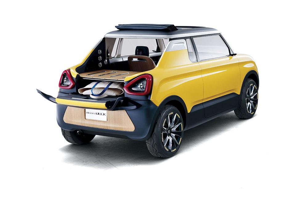 Vue arrière - Suzuki Concept Mighty Deck