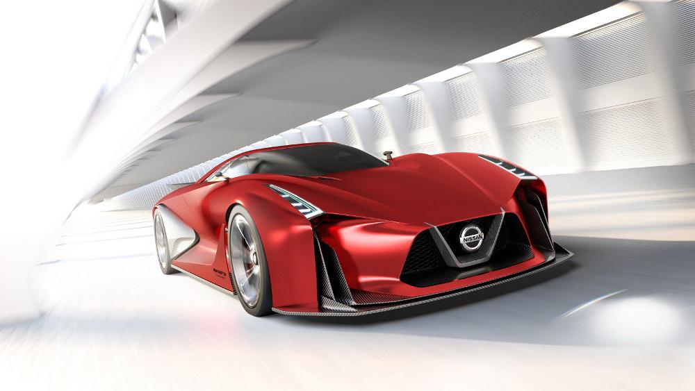 Nissan Vision 2020 - Fire Knight - Salon Tokyo