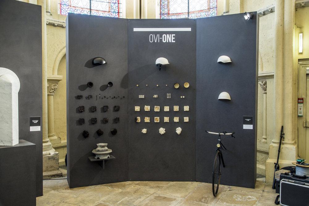 Exposition tryptic par Alexandre Echasseriau