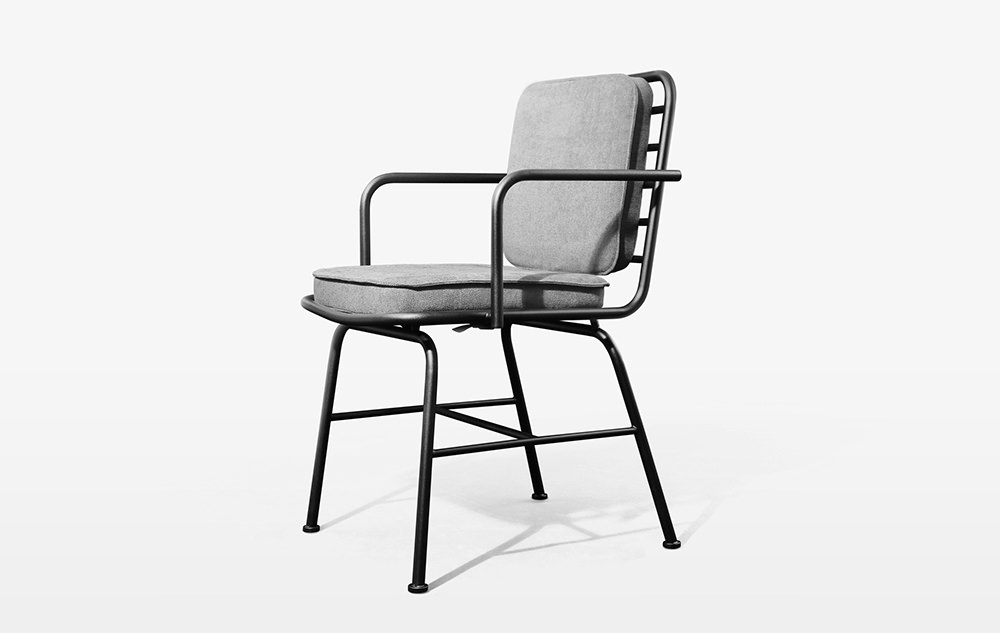 Poner mobilier m tallique par jimin lee blog esprit design - Chaise metallique design ...