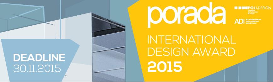 PORADA International Design Award 2015