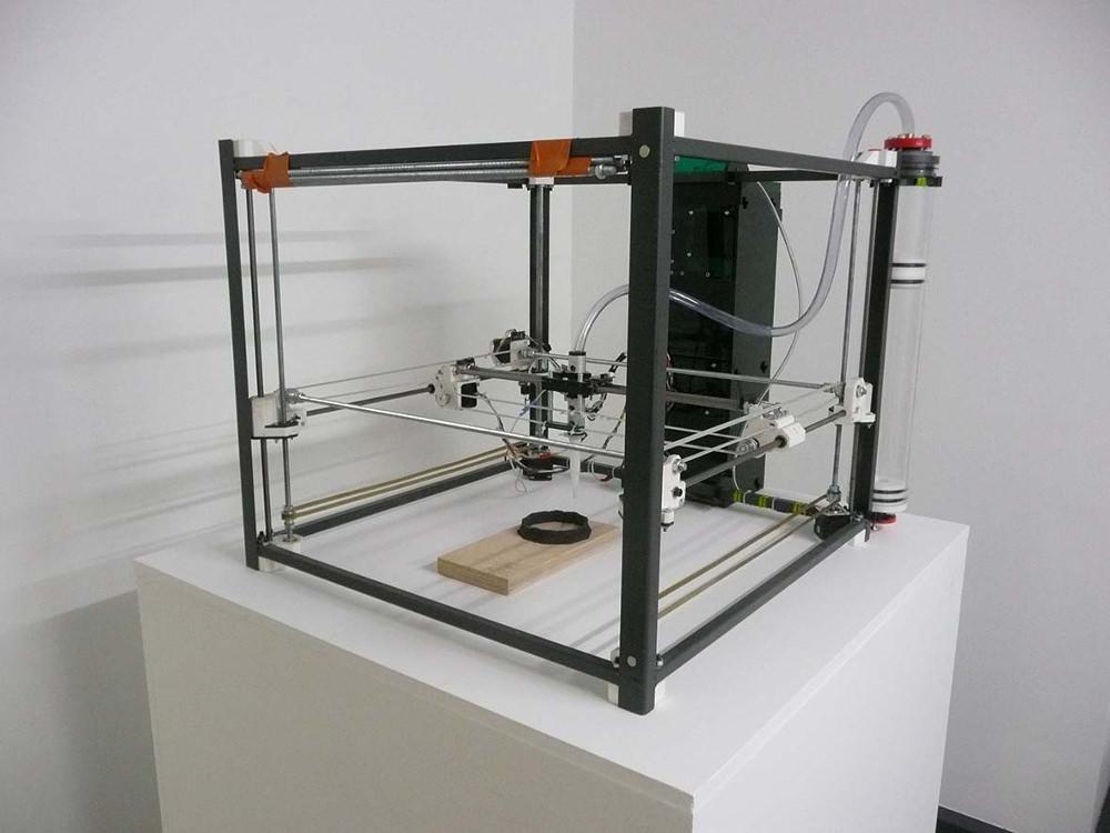Printing Wood! Pierrick Faure