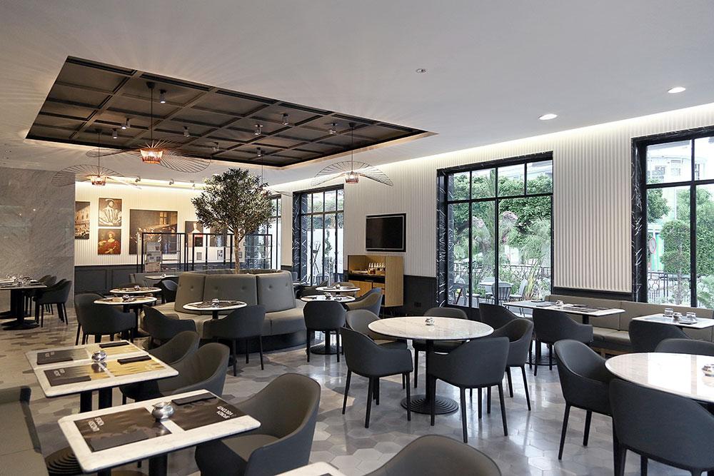 Restaurant sforza visconti par umdum design for Hotel design zelande