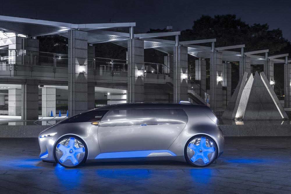 Concept-car Vision Tokyo par Mercedes
