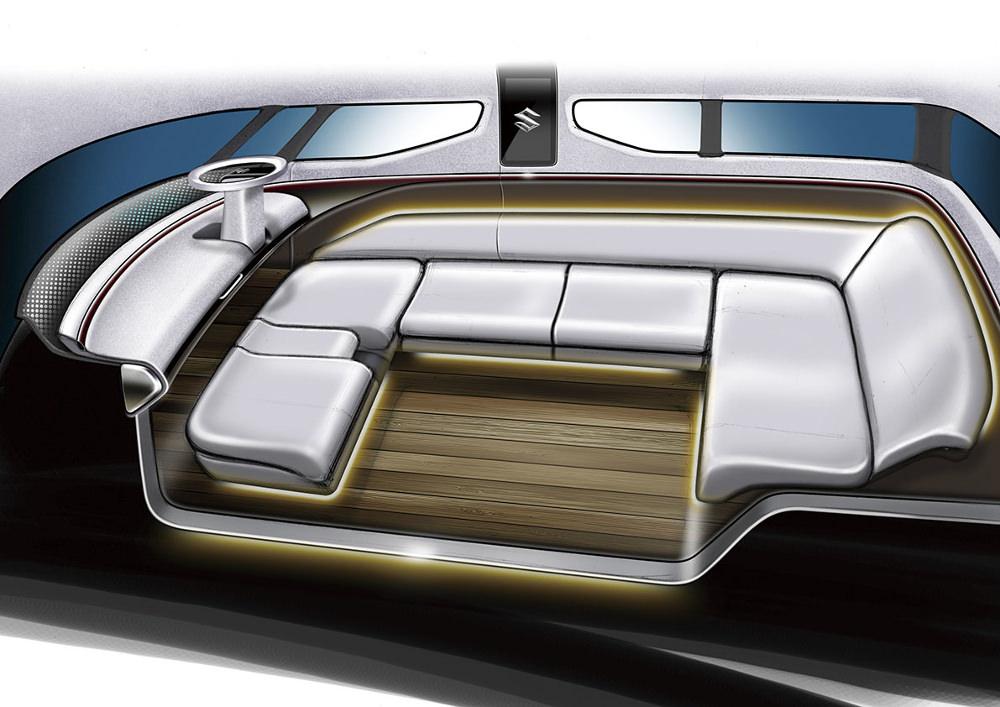 Sketch conception - Suzuki Air Triser Concept