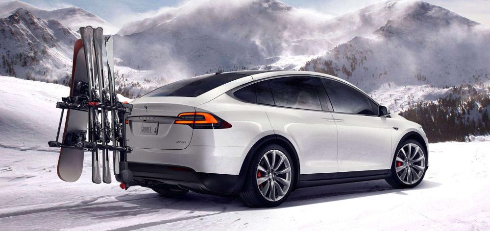 Tesla voiture Model X nouvel SUV Tesla