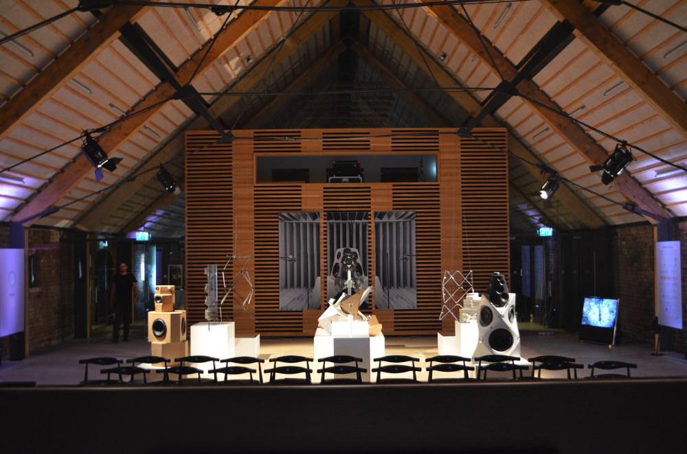 lancement international derniere enceinte design Bang & Olufsen