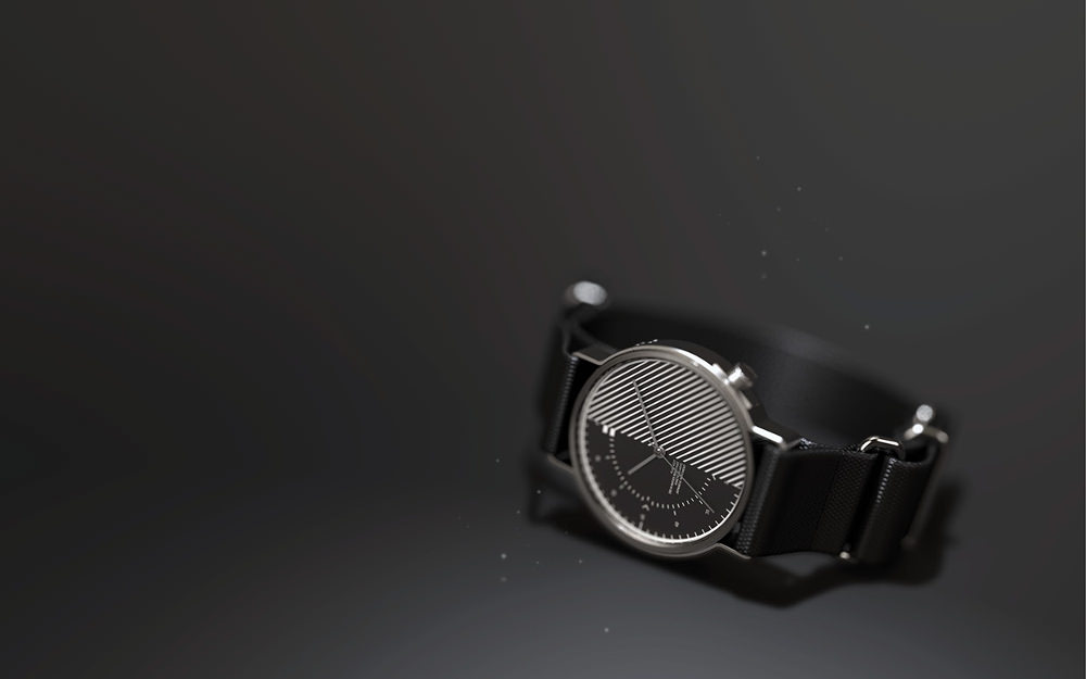 FLUX 4027 watch design David Verchick