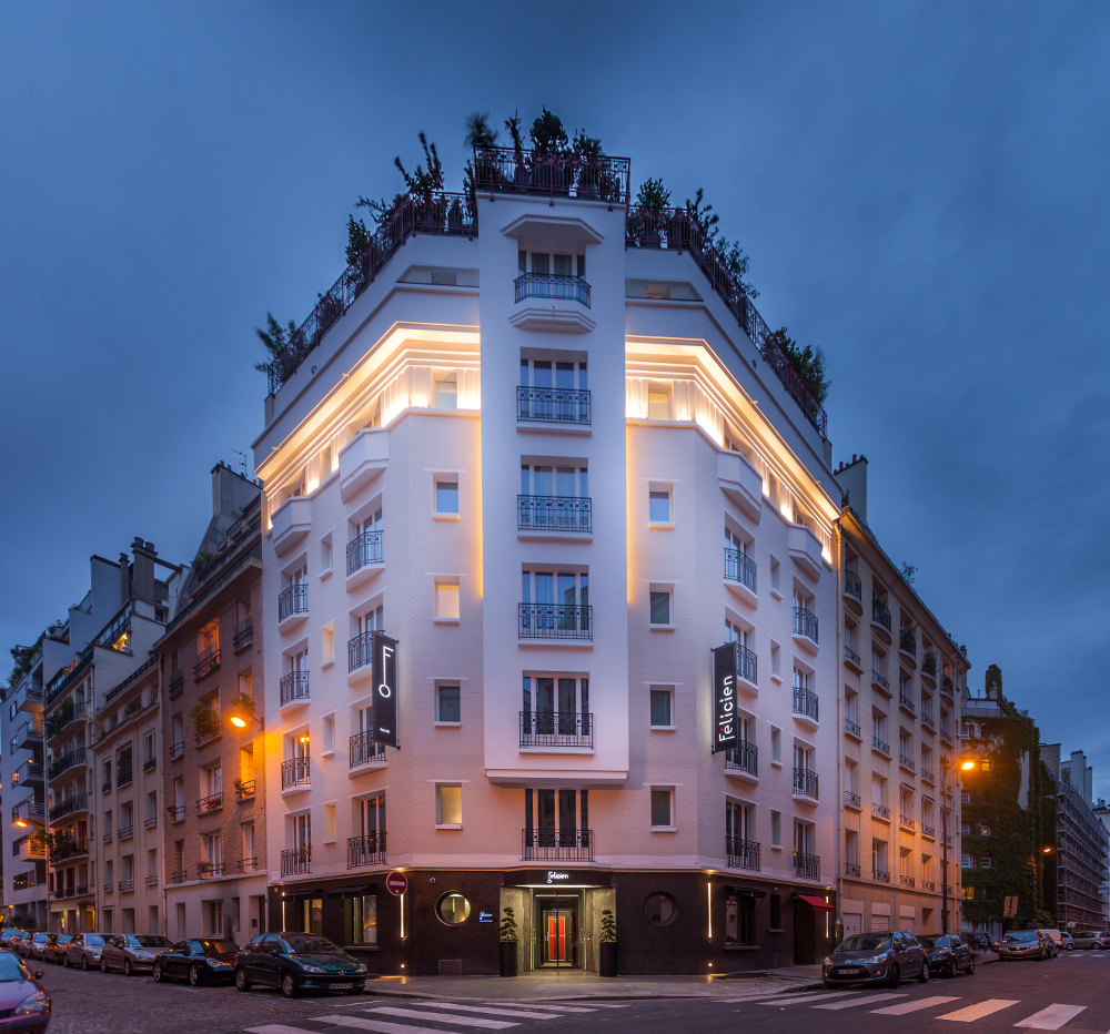 H tels paris h tel f licien blog esprit design for Hotel design france