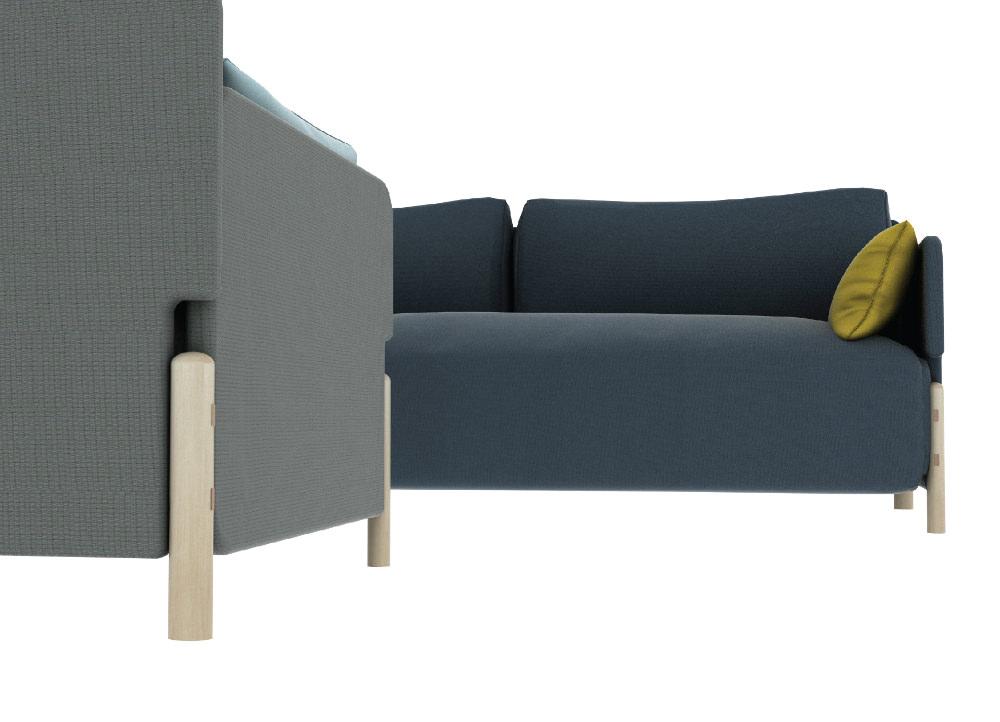 Mammut design sofa par GINA design studio