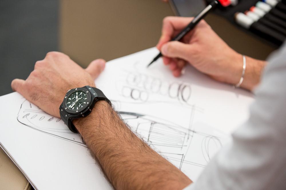 Sketch de Flavio Manzoni - Ferrari