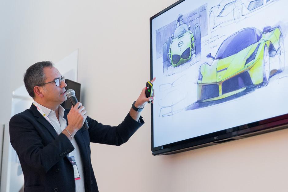 conférence de Flavio Manzoni - Ferrari