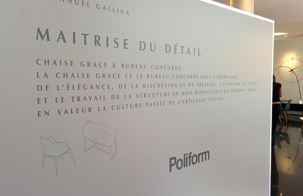 Emmanuel Gallina pour Poliform