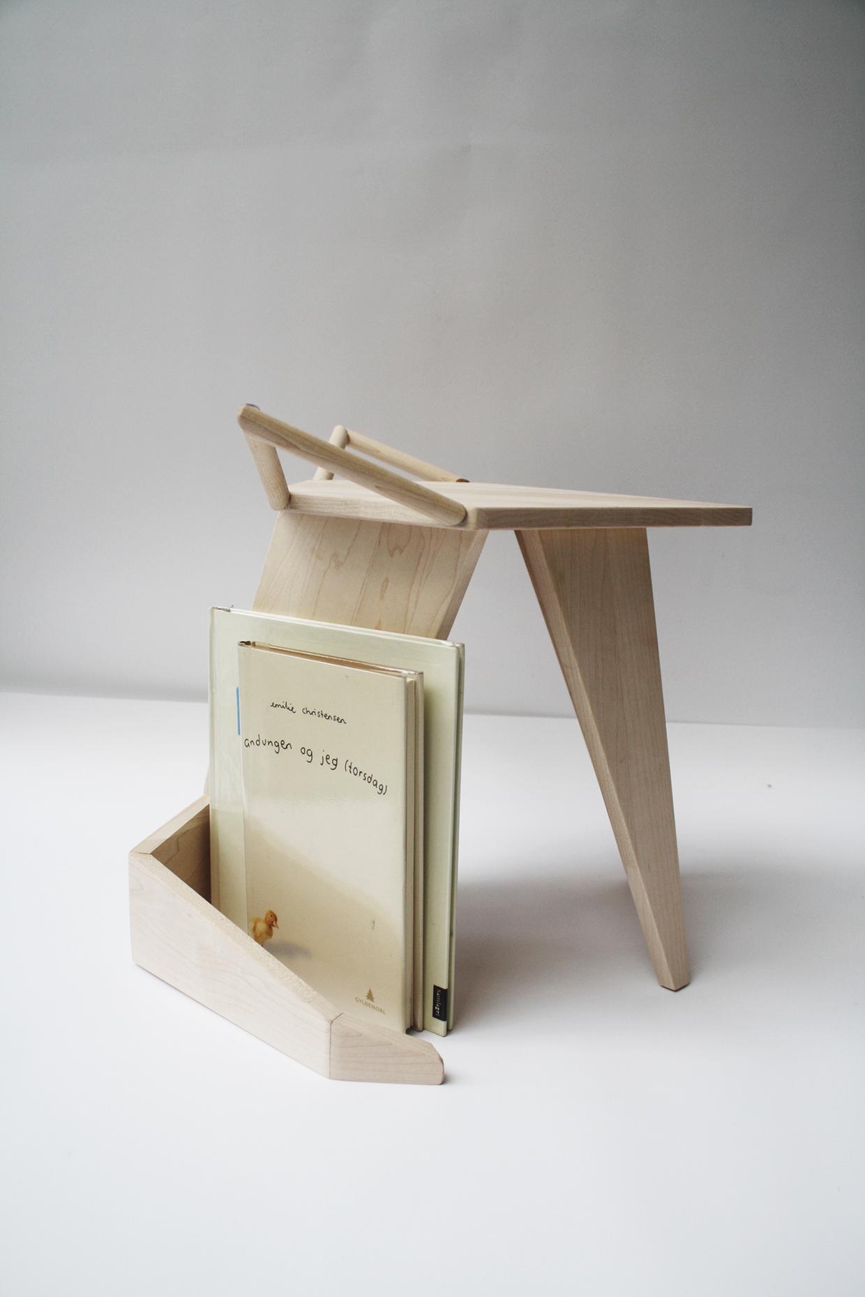 Projet étudiant : MIKKEL Stool par Iselin Lindmark