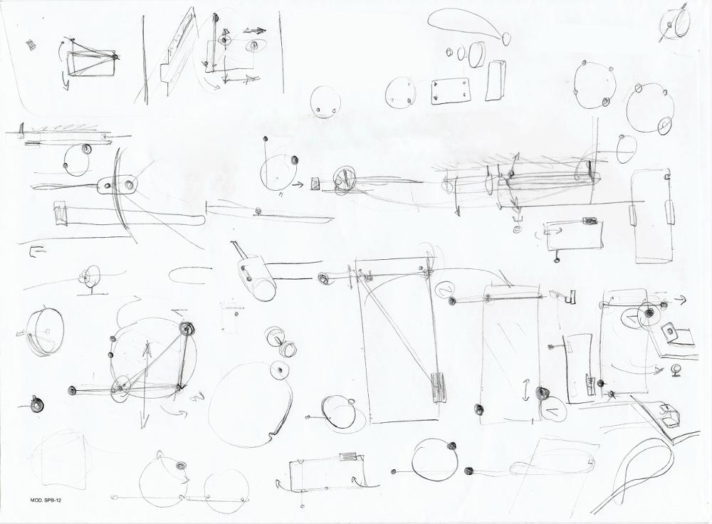 Sketches - BALANCE collection de miroirs par Kutarq