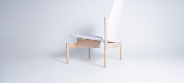 Chaise Albue building for the body par Petter Mustvedt et Sigurd Kalvik