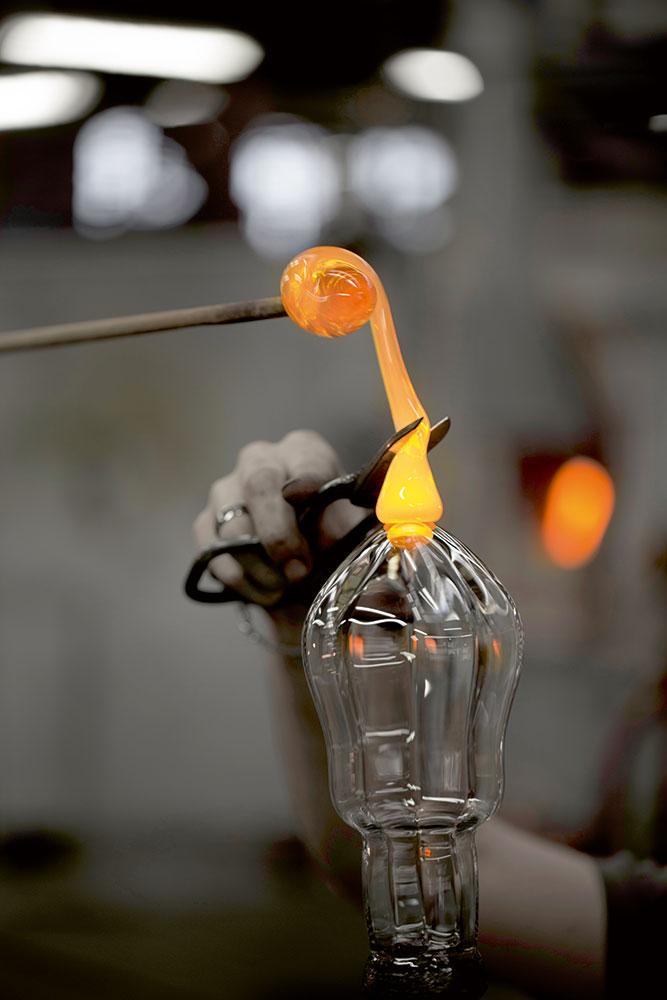 Collection Twist 1585 verre cristal par Saint Louis