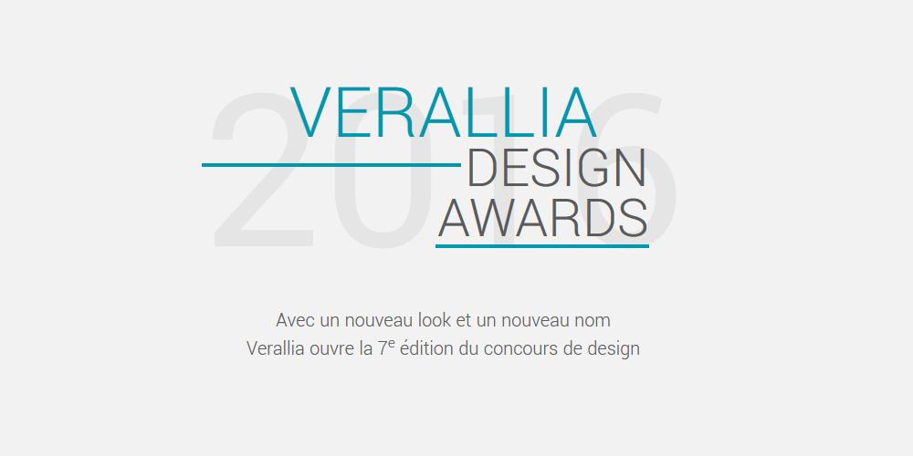 Concours VERALLIA Design Awards