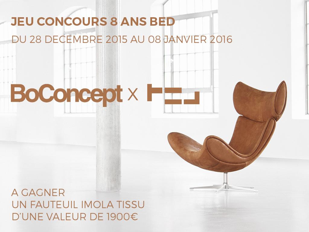 JEU CONCOURS anniversaire BLOG ESPRIT DESIGN x BOCONCEPT : Les RÉSULTATS