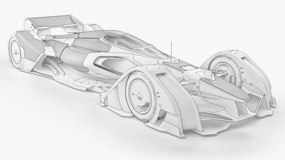 McLaren MP4-X Formule 1 du futur