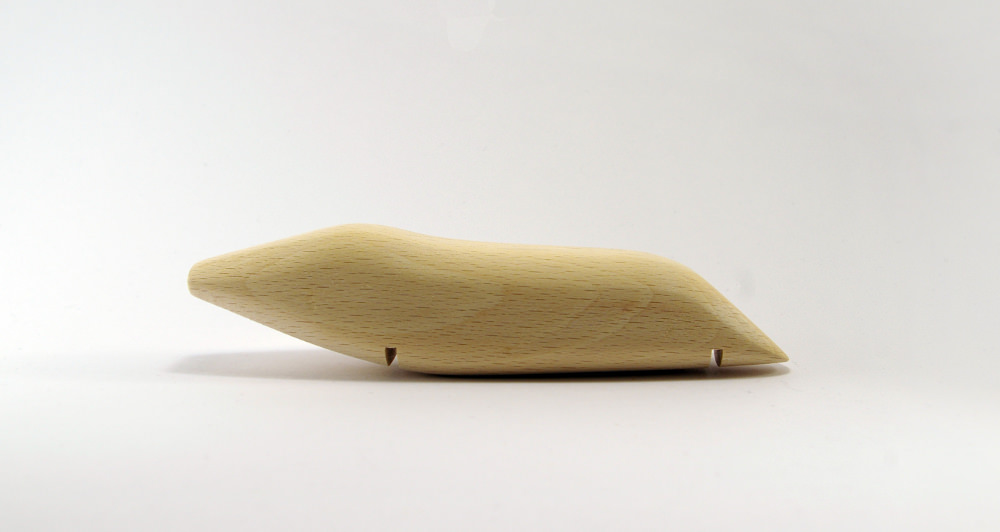 Objet roulant - Orovof jouets en bois par Pierre Meriadec