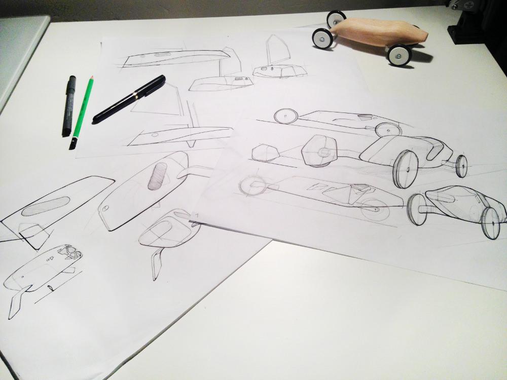 Sketch - croquis - Orovof jouets en bois par Pierre Meriadec