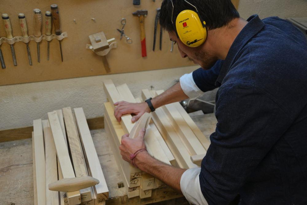 Atelier fabrication - Orovof jouets en bois par Pierre Meriadec