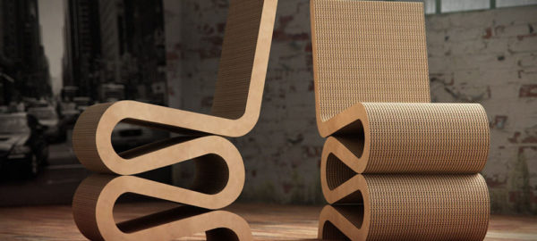 Histoire de Design : The Wiggle Side Chair par Frank Gehry 1972