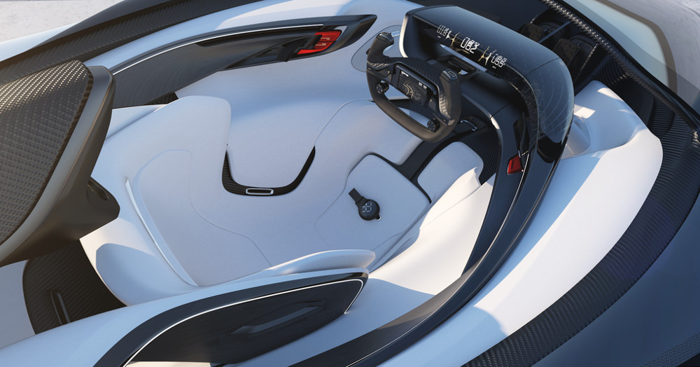 Faraday Future FFZERO1 concept car futuriste