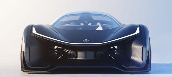 Faraday Future FFZERO1 concept car futuriste