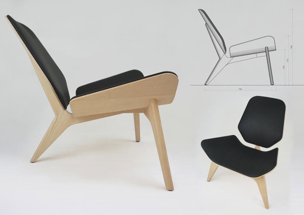 mamba chauffeuse tripode par le studio nab blog esprit design. Black Bedroom Furniture Sets. Home Design Ideas