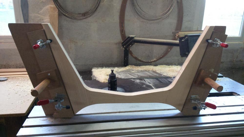 MAMBA chauffeuse tripode par le studio NAB