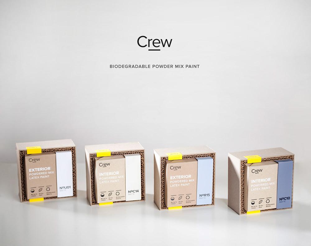 Packaging : Crew kit pour peinture par Alireza Jajarmi