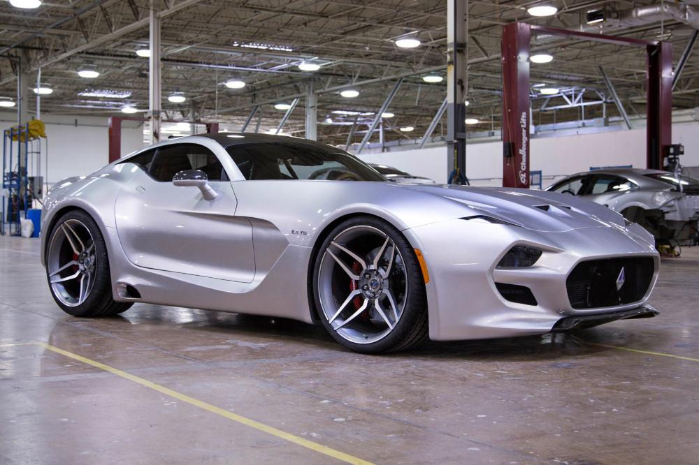 Retour sur l'édition 2016 du salon de Detroit - FISKER VLF FORCE 1 V10