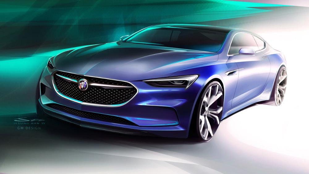 Retour sur l'édition 2016 du salon de Detroit - Buick Avista Concept